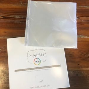 NEW Becky Higgins Project Life Page Protectors